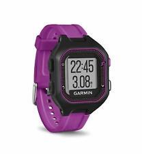 Garmin Forerunner 25 Black and Purple Small GPS Running Watch 010-01353-20