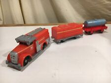 Motorized Flynn with Tender and Water Tanker for Thomas and Friends Trackmaster