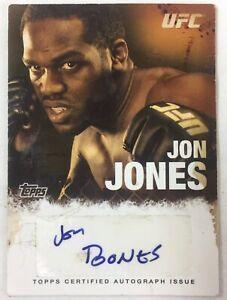 2010 Topps UFC Autograph #FA-JJ ~ JON JONES