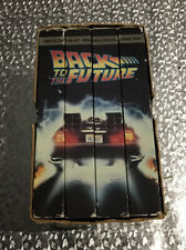 BACK TO THE FUTURE TRILOGY + Bonus Tape - 4 VHS Video Box Set Widescreen