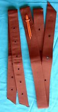 Web Latigo Girth Tie Strap & Off Billet for Halfbreed Stock Western Saddle Horse