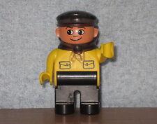 Lego Duplo Eisenbahn Lok Figur: Intelli Lokführer gelb aus 3325 & 3335