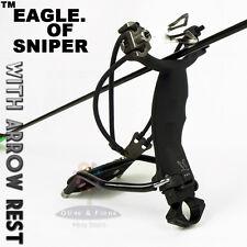 Thinkbay Eagle of Sniper Slingshot Catapult Arrow rest+Clam+4Magnetic Block Hunt