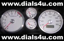 Mitsubishi Fto (1994-2000) 180mph o 110mph importación conversión-Dial blanco Kit