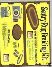 Sentry Rug Braiding Kit-Vintage in original box with instruction leaflet unopen
