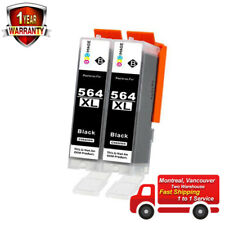 2PK 564XL 684WXL CB321WN Black Ink Cartridge For HP 5520 6512 7520 7525 C5324