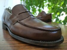 Church's Men's Brown Leather Penny Loafers Shoes Sz UK 7 G || US 8