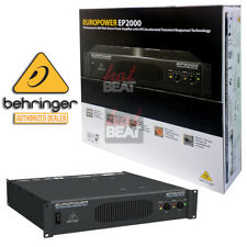 NEW Behringer EP2000 Professional High Quality 2000W Power Amplifier Amp 2U