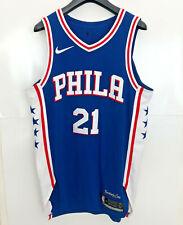 Joel Embiid Philadelphia 76ers Authentic NBA Jersey size 44 Medium Nike Simmons