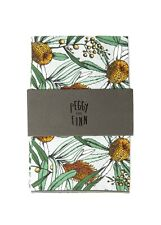 PEGGY AND FINN Banksia Grey Pocket Square