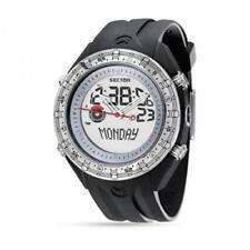 OROLOGIO SECTOR Marathon, uomo, crono timer in silicone nero ref. R3251909015