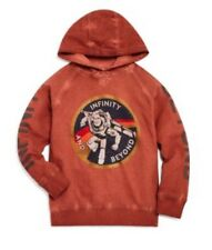 Disney Courage & Kind Distressed Red Toy Story Buzz Lightyear Hoodie Size 3-4