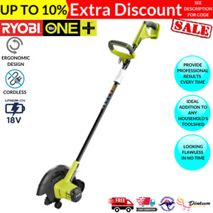 Ryobi ONE+ 18V Cordless Lawn Garden Edger Trimmer 220mm - Tool Only