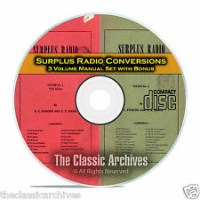 Surplus Radio Conversion Manuals, Old Time Radio Repair and Service CD C04