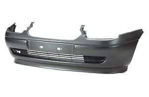 Fits Vauxhall Corsa B Front Bumper Black With Spoiler 98-00 1993-2000