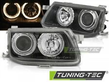 Headlights For OPEL ASTRA F 94-97 ANGEL EYES BLACK