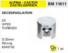 8540730 PISTON CHAINSAW ALPINA CASTELGARDEN CASTOR 25 VIP TURBO ø 33 mm