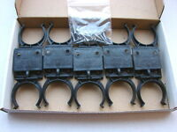 10 Hafele Kitchen Plinth/Kick Board Clips and Bracket Set + screws for 32mm legs