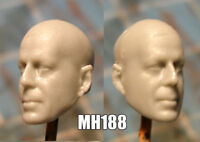 "MH188 Custom Cast head use w/3.75"" Star Wars GI Joe Acid Rain action figures"