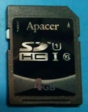 Apacer 4GB SD class10 HC NOW ON SALE