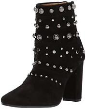New Badgley Mischka 'Kurt' Studded Black Suede Bootie sz 6.5 women $495