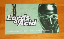 Lords of Acid Heaven is an Orgasm Postcard Original Promo 6x4
