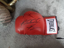 Heavyweight Champion Riddick Bowe  autographed Everlast Glove Bonus photo