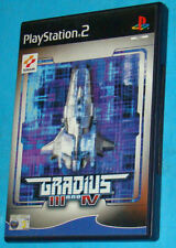 Gradius 3 III and 4 IV - Sony Playstation 2 PS2 - PAL