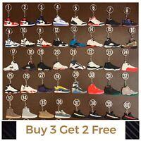 Air Jodan Supreme Yeezy Nike Adidas Sneaker Keychain BUY 3 GET 2 FREE! + Gift!