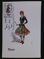 Spain Mk 1967 Costumes Spanien Trachten Maximumkarte Maximum Card Mc Cm A8664 Maximumkarten