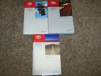 2016 Toyota Camry Owner Owner's User Guide Manual LE SE XLE XSE 2.5L 3.5L