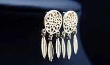 Earring Boho Festival Party Boutique Uk Gold Dream Catcher Geo Luxury Fashion
