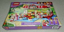 NEW Lego FRIENDS City Park Cafe 3061 MARIE Andrea BAKING Kitchen RESTAURANT