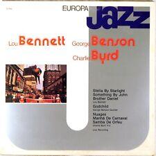 EUROPA JAZZ ITALY George BENSON Charlie BYRD Lou BENNETT 1981 Gatefold EJ-1042