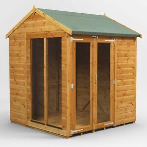 Power Apex Summerhouse l Power Sheds l Summerhouse Size 6x6, 8x6, 10x6, 12x6