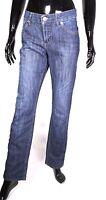 GJ5-51 Street One Sandy Damen Basic Jeans Hose straight blau W29 L32 Stretch