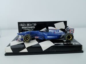 Minichamps F1 1/43 Scale - 430 950005 WILLIAMS RENAULT FW 17 D.HILL