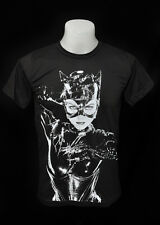 Catwoman movie dark grey punk rock crew 100% soft cotton tee t-shirt size XL