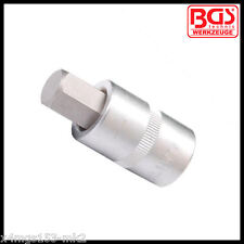 "BGS - 1/2"" - Allen Key, Internal Hex - 14 mm x 53 mm - Bit Socket - Pro - 4257"