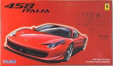 FUJIMI 1/24 Ferrari 458 Italia real sports car series RS-81 scale model kit