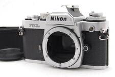 FEDEX 【EXC+++++】NIKON NEW FM3A SILVER 35mm SLR MF FILM CAMERA body only Japan