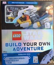 Lego Star Wars Build Your Own Adventure, Rebel pilot minifigure and lots more