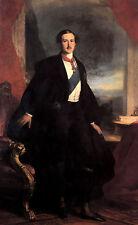 Oil painting franz xavier winterhalter - Young man portrait prince albert canvas