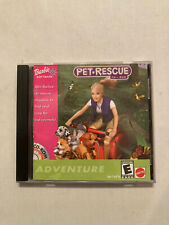 Barbie Pet Rescue cd rom game 2001