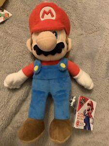 """Official San-ei 10"""" Mario Soft Stuffed Plush Super Mario Series Plush Doll 1414"""
