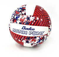 Baden Match Point Mini Volleyball White/ Red/ Blue Stars Model VS2-3002 #NO5931