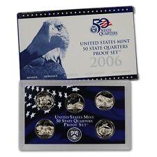 2006 US Mint State Quarter Proof Set