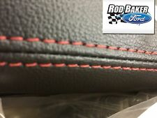 16-17 Ford Explorer 2nd Second Row Center Console Sport Ebony / RED STITCHING