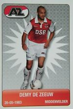 Plus Eredivisie Football tradingcard 2007/08 #25 Demy de Zeeuw AZ Alkmaar