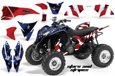 ATV Graphics Kit Quad Decal Sticker Wrap For Honda TRX700XX 2009-2015 USA FLAG